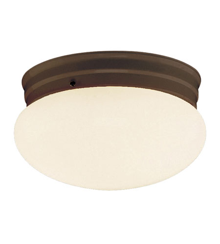 Trans Globe Lighting PL-3620-1-ROB Signature 1 Light 10 inch Rubbed Oil Bronze Flush Mount Ceiling Light photo thumbnail
