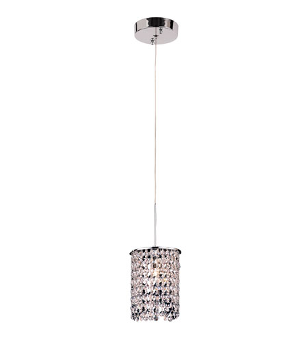 Trans Globe Lighting PND-700 Modern Collection 1 Light 6 inch Polished Chrome Pendant Ceiling Light photo
