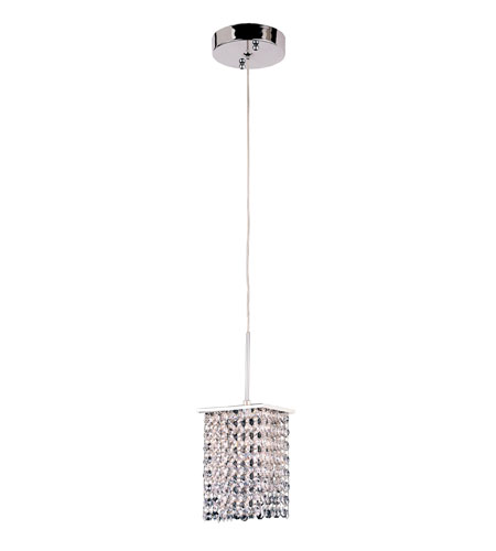 Trans Globe Lighting PND-701 Modern Collection 1 Light 5 inch Polished Chrome Pendant Ceiling Light photo