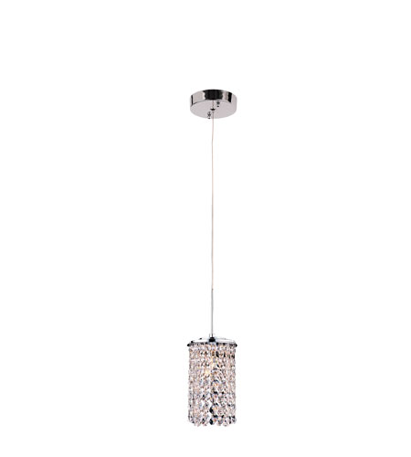 Trans Globe Lighting PND-705 Modern Collection 1 Light 4 inch Polished Chrome Pendant Ceiling Light photo