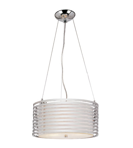 Trans Globe Lighting PND-872 Contemporary 4 Light 16 inch Polished Chrome Pendant Ceiling Light photo
