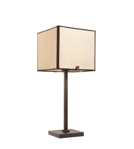 Trans Globe Lighting Contemporary 1 Light Table Lamp in Rubbed Oil Bronze RTL-8674 photo