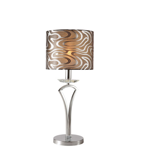 Trans Globe Lighting Contemporary 1 Light Table Lamp in Antique Brass RTL-8689-AB photo
