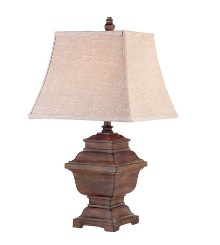 Trans Globe Lighting Traditional 1 Light Table Lamp in Rubbed Oil Bronze RTL-8708 photo