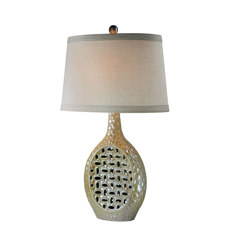 Trans Globe Lighting Contemporary 1 Light Table Lamp in Champagne Iridescent RTL-8717 photo