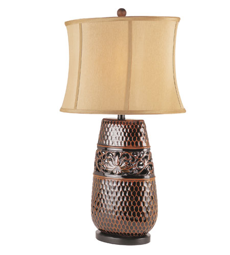 Trans Globe Lighting Traditional 1 Light Table Lamp in Rubbed Oil Bronze RTL-8719 photo
