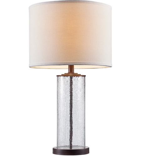 Trans Globe Lighting RTL-8930-ROB Tami 26 inch 60 watt Rubbed Oil Bronze Table Lamp Portable Light photo