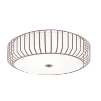 Trans Globe Lighting Signature 4 Light Flush Mount in Brushed Nickel 10032-BN photo thumbnail