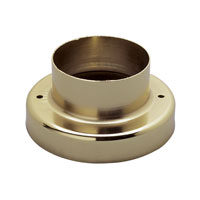 Trans Globe Lighting Round Pier Base in Polished Brass 101-PB