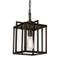 Trans Globe Signature 1 Light Pendant in Rubbed Oil Bronze 10210-ROB