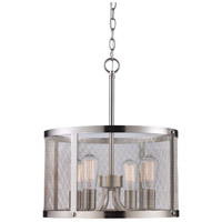 Trans Globe Lighting 10224-BN Mesh 4 Light 16 inch Rubbed Oil Bronze Pendant Ceiling Light in Brushed Nickel