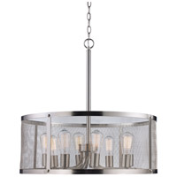 Brushed Nickel Electrical Signature Pendants