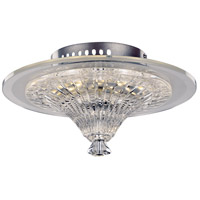 Lumine LED 12 inch Polished Chrome Flush Mount Ceiling Light