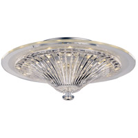 Lumine LED 16 inch Polished Chrome Flush Mount Ceiling Light