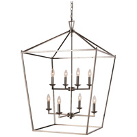 Lacey 8 Light 26 inch Polished Chrome Pendant Ceiling Light
