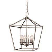 Lacey 6 Light 16 inch Polished Chrome Pendant Ceiling Light