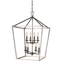 Lacey 8 Light 16 inch Polished Chrome Pendant Ceiling Light