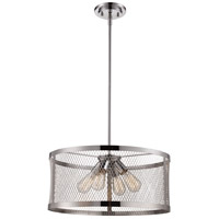 Mist 4 Light 20 inch Polished Chrome Pendant Ceiling Light