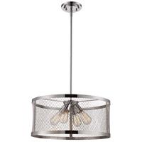 Trans Globe Lighting 10384-PC Mist 4 Light 20 inch Polished Chrome Pendant Ceiling Light