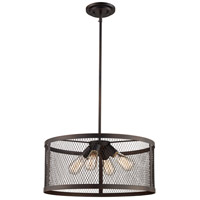 Mist 4 Light 20 inch Rubbed Oil Bronze Pendant Ceiling Light