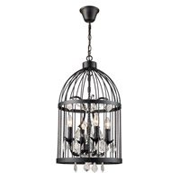 Amherst 4 Light 14 inch Black Pendant Ceiling Light