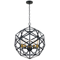 Cyrus 5 Light 21 inch Rubbed Oil Bronze Pendant Ceiling Light