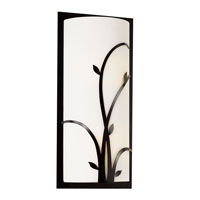 Trans Globe Lighting Opal Reed 2 Light Wall Sconce in Black 20231-BK