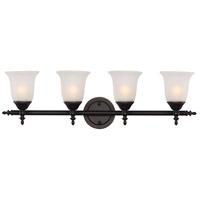 Trans Globe Lighting 20394-ROB Gassaway 4 Light 29 inch Rubbed Oil Bronze Vanity Bar Wall Light