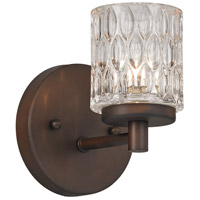 Trans Globe Lighting 20491-ROB Signature 1 Light 6 inch Rubbed Oil Bronze Wall Sconce Wall Light