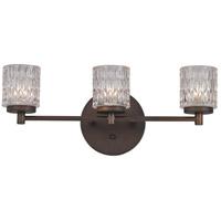 Trans Globe Lighting 20493-ROB Signature 3 Light 21 inch Rubbed Oil Bronze Vanity Light Wall Light