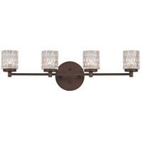 Trans Globe Lighting 20494-ROB Signature 4 Light 28 inch Rubbed Oil Bronze Wall Sconce Wall Light
