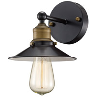 Griswald 1 Light 7 inch Rubbed Oil Bronze Wall Sconce Wall Light