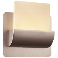 Essence LED 7 inch Satin Aluminum ADA Wall Sconce Wall Light