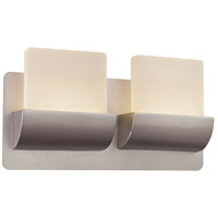 Essence LED 13 inch Satin Aluminum ADA Vanity Bar Wall Light