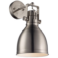 Trans Globe Lighting 20781-BN Winrock 1 Light 7 inch Brushed Nickel Wall Sconce Wall Light  photo thumbnail