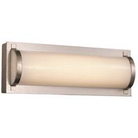 Trans Globe Lighting 20800-BN Fawcett LED 12 inch Brushed Nickel ADA Vanity Bar Wall Light