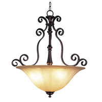 Trans Globe Lighting New Century 3 Light Pendant in Rubbed Oil Bronze 21054-ROB