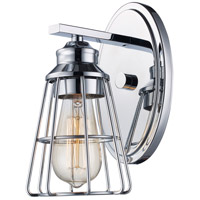 Trans Globe Lighting 21191-PC Solution 1 Light 5 inch Polished Chrome Wall Sconce Wall Light