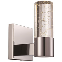 Trans Globe Lighting 21271-PC Georgie LED 5 inch Polished Chrome LED Wall Sconce Wall Light