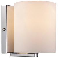 Trans Globe Lighting 21511-PC Simona 1 Light 5 inch Polished Chrome Wall Sconce Wall Light