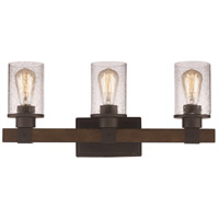 Trans Globe Lighting 21843-ROB Siesta 3 Light 23 inch Rubbed Oil Bronze Vanity Bar Wall Light