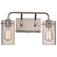 Trans Globe Lighting 21882-PC Townsend 2 Light 16 inch Polished Chrome Vanity Bar Wall Light