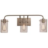 Trans Globe Lighting 21883-BN Townsend 3 Light 25 inch Brushed Nickel Vanity Bar Wall Light