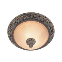 Trans Globe Lighting Signature 2 Light Flush Mount in Gilded Bronze 26311-GBZ