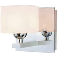 Trans Globe Signature 1 Light Vanity Light in Polished Chrome 2691-PC