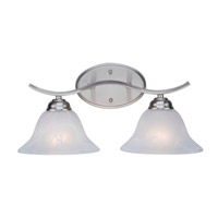 Pine Arch 2 Light 17 inch Brushed Nickel Vanity Light Wall Light