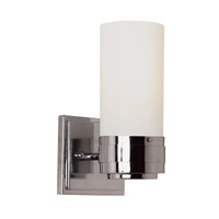 Trans Globe Solstice 1 Light Wall Sconce in Polished Chrome 2912-PC
