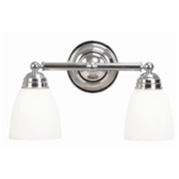 Trans Globe Lighting 3356-PC Ardmore 2 Light 16 inch Polished Chrome Vanity Bar Wall Light