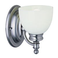 Trans Globe Lighting Signature 1 Light Wall Sconce in Antique Nickel 34141-AN