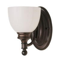 Button Willow 1 Light 6 inch Rubbed Oil Bronze Wall Sconce Wall Light